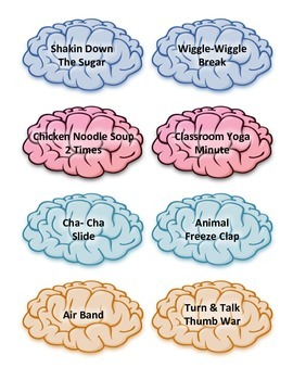 Brain Break Cards