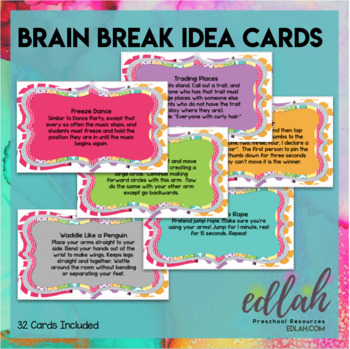 Brain Break Cards