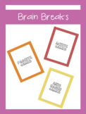 Brain Break Cards For All Ages | LCI Movement