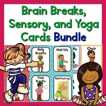 graphic about Yoga Cards Printable known as Intellect Crack Playing cards, Sensory Playing cards, and Yoga Playing cards and Printables Offer