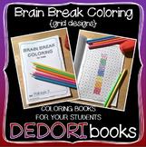 Brain Break Coloring Book - Grid Designs