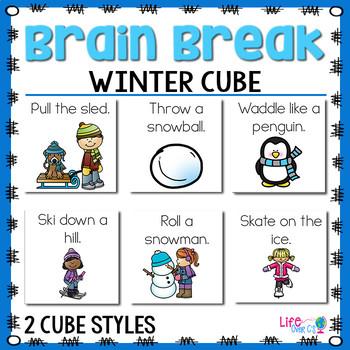 Brain Break Cube | Winter Theme
