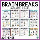 Brain Break Cubes BUNDLE | Gross Motor Activities
