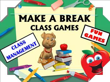 Brain Break Fun for Early Elementary Classrooms