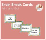Brain Break Idea Cards