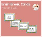 Brain Break Idea Cards