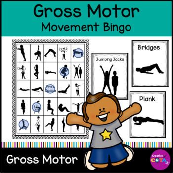 Brain Break: Movement Bingo 25 space