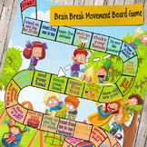 Brain Break Movement Board Game – recess activities for Pr