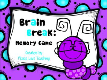 Brain Break - Picture Memory