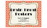 Brain Break Posters