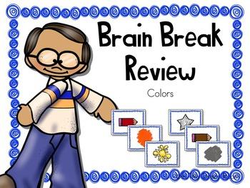 Brain Break Review Colors Sildeshow