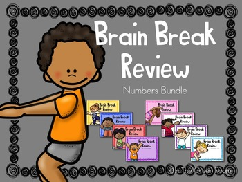 Brain Break Review Numbers Sildeshow