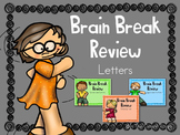 Brain Break Review Uppercase and Lowercase Letter Slideshow