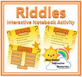 Interactive Brain Break Riddles Activity for IWB