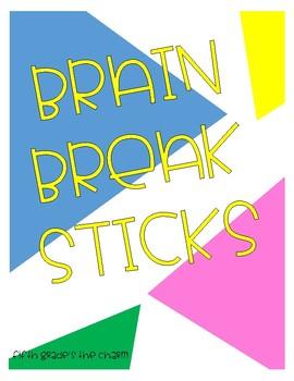 Brain Break Sticks