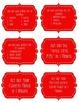 Brain Break Task Cards - red stitched