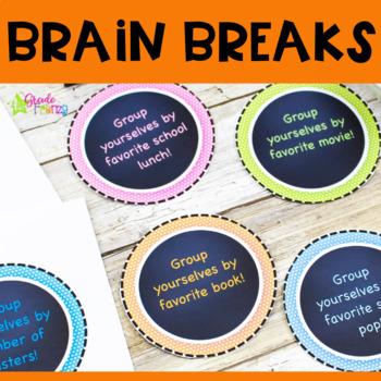 Easy Brain Breaks