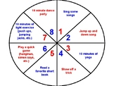 Brain Break Wheel