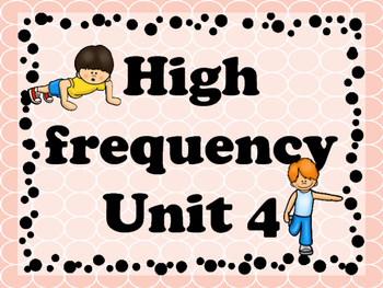 Brain Break with high frequency Unit 4