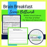 Bellwork Bell ringer for Nature of Science & First Days of School