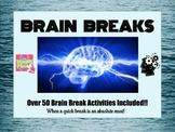 Classroom Management/Behavior Management/ Brain Breaks