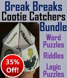 Brain Breaks Activities Bundle: Teasers, Riddles, Logic Puzzles (SCOOT!)