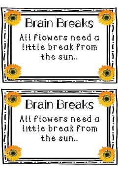 5 Minute Brain Breaks