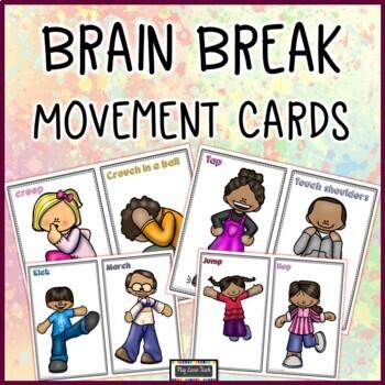 Brain Break Movement Cards