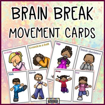 Brain Break Movement Cards