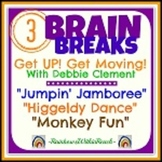 Brain Breaks: 3 Active Songs for Movement and Dance