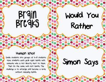 DOLLAR DEAL! Brain Breaks