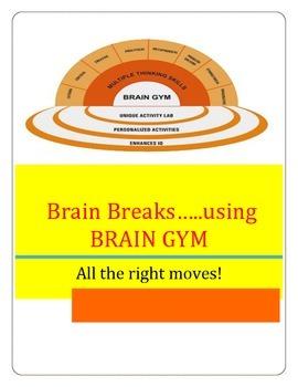 Brain Breaks for the classroom from an OTR