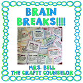 Brain Breaks (45 Brain Breaks Cards)