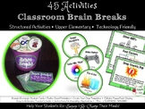 Brain Breaks: 45 Upper Elementary Brain Breaks