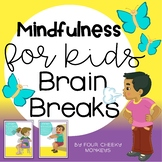 Brain Breaks Activity Cards For Kids | mindfulness and gro