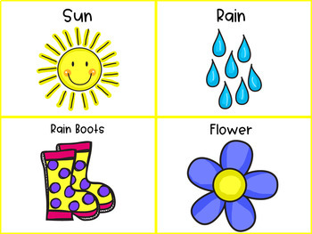 Brain Breaks Activity Cards- Spring Charades
