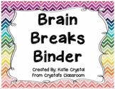 Brain Breaks Binder