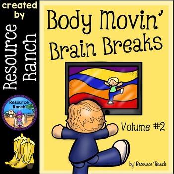 Brain Breaks Body Movin' Volume 2