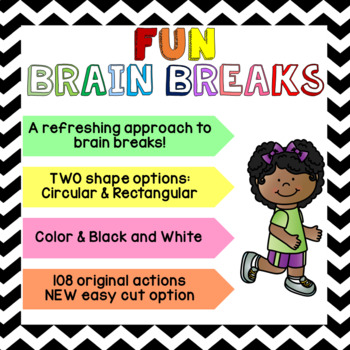 FUN Brain Breaks [Brain Gym]