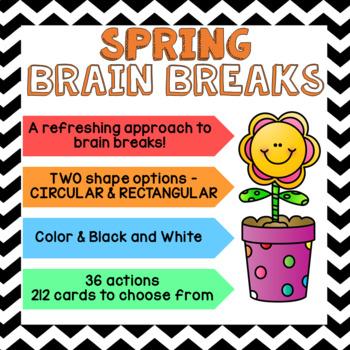 SPRING Brain Breaks [Brain Gym]