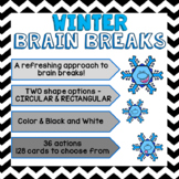 Brain Breaks [Brain Gym] - Winter Theme
