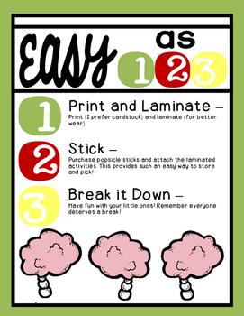Brain Breaks [Break it Down with 35 Fun, Quick, and Easy Brain Break Activities]