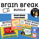 Brain Breaks Bundle | Made for Distance Learning, Zoom, an