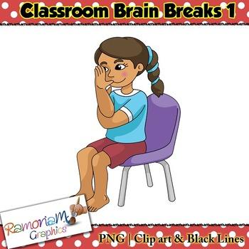 Brain Breaks Clip art
