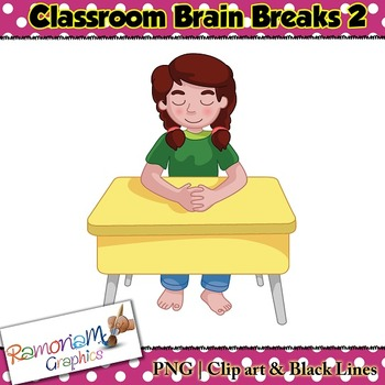 Brain Breaks Clip art