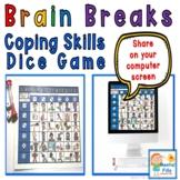 Brain Breaks Coping Skills Dice Game