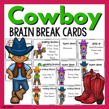 Brain Breaks - Cowboy Theme