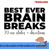 Brain Breaks - Cue slides and instructions (English edition)