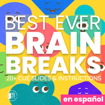 Brain Breaks - Cue slides and instructions (Spanish edition)