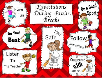 Brain Breaks: Daily Physical Activity - Communication and Teamwork Games